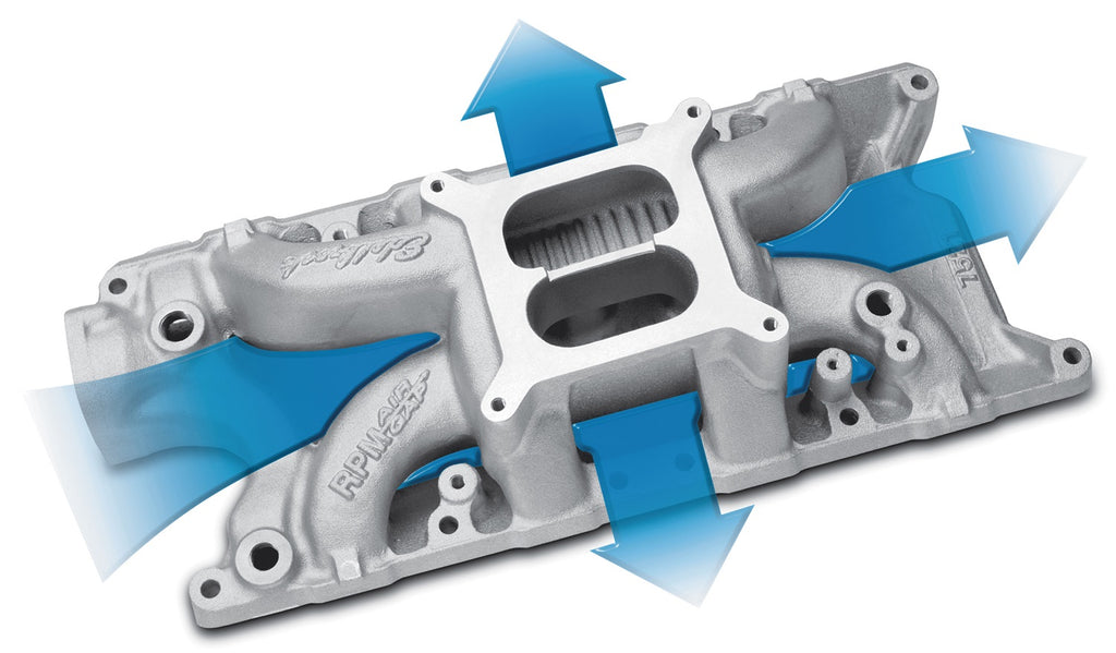 RPM Air-Gap Small Block Ford 302 Intake Manifold (7521) | Edelbrock