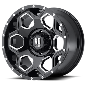 18x10 XD Series by KMC BATALLION  6x139.70 -24 XD81381068324N