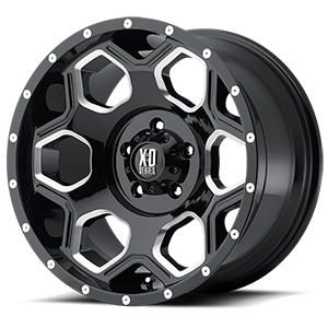 20x10 XD Series by KMC BATALLION  5x127.00 -24 XD81321050324N