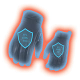 Men's Leather Gloves With Gel Palm, Cool Tec Technology, Touch Screen Fingers MG7502