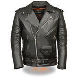 Men's Classic Side Lace Basic M/C Jacket SH1011