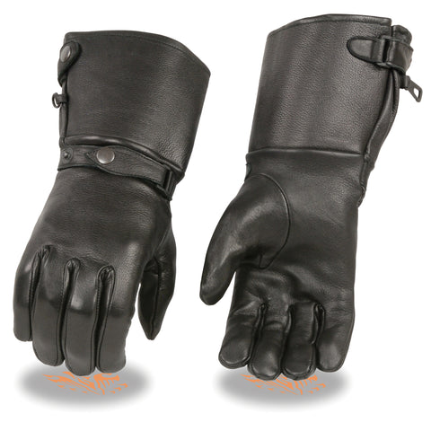 Men's Full Finger Leather Gloves SH857