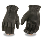 Men's Full Finger Leather Gloves SH867