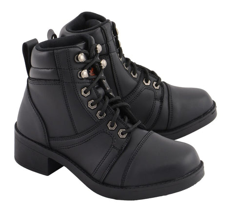 Kid's Lace to Toe Biker Style Boot, MBK9285