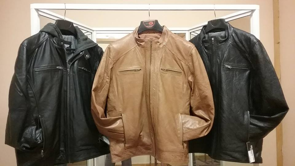 Men's Lamb Skin Jackets Available In Store