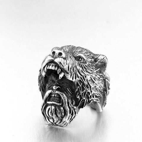 Viking Berserker Ring