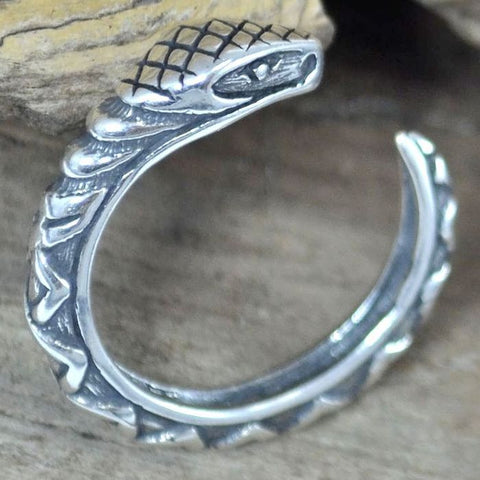 Serpent Ring - Sterling Silver