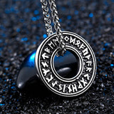 The Ring of Runes Pendant Necklace