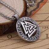 The Valknut - Stainless Steel Pendant Necklace