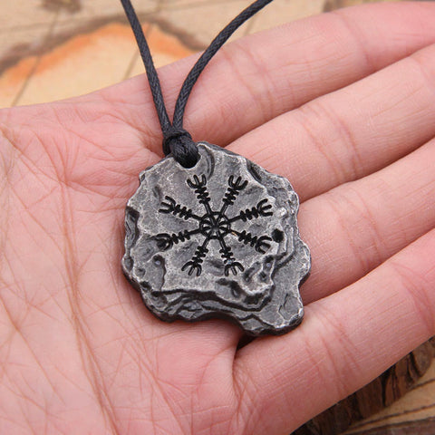Aegishjalmr / The Helm of Awe Pendant Necklace