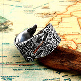 Norse Ravens Ring