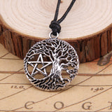 Yggdrasil Pentacle Pendant Necklace
