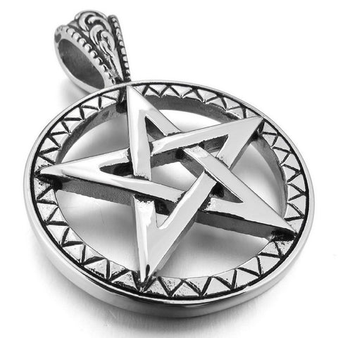 Charming Pentacle Pendant Necklace