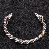 Norse Ravens Stainless Steel Bangle