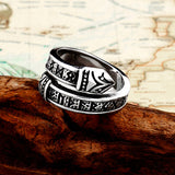 Runes Serpent Ring