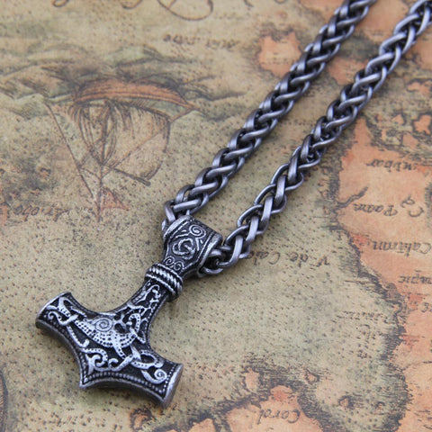 Mjolnir Pendant Necklace