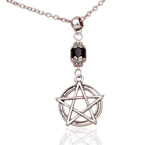 Vintage Wiccan Pendant Necklace