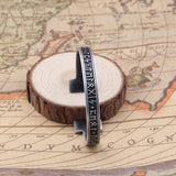 Norse Runic Bangle