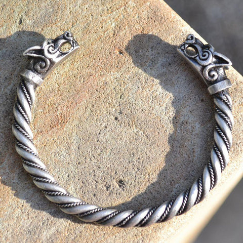 Fenrir Bangle - Pewter
