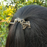 Celtic Dragon Knotwork Hairpin