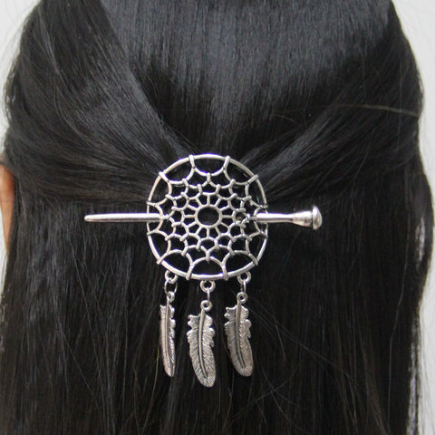 Dreamcatcher Hairpin