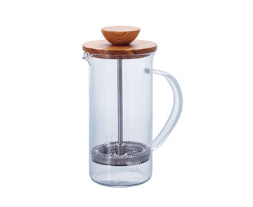 Hario Olive Wood Tea Press SM