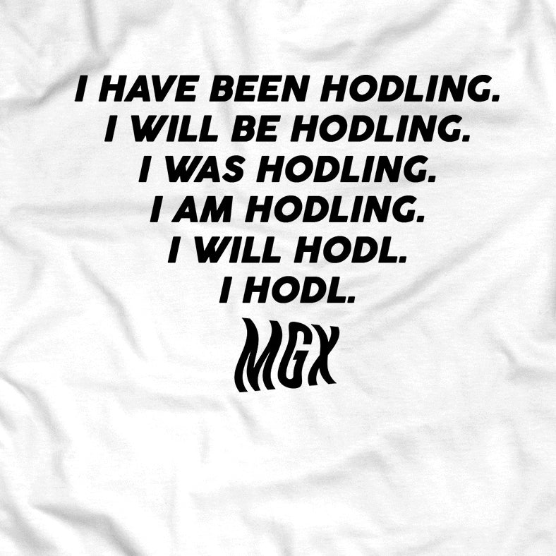 #Hodlgang T-Shirt (White)