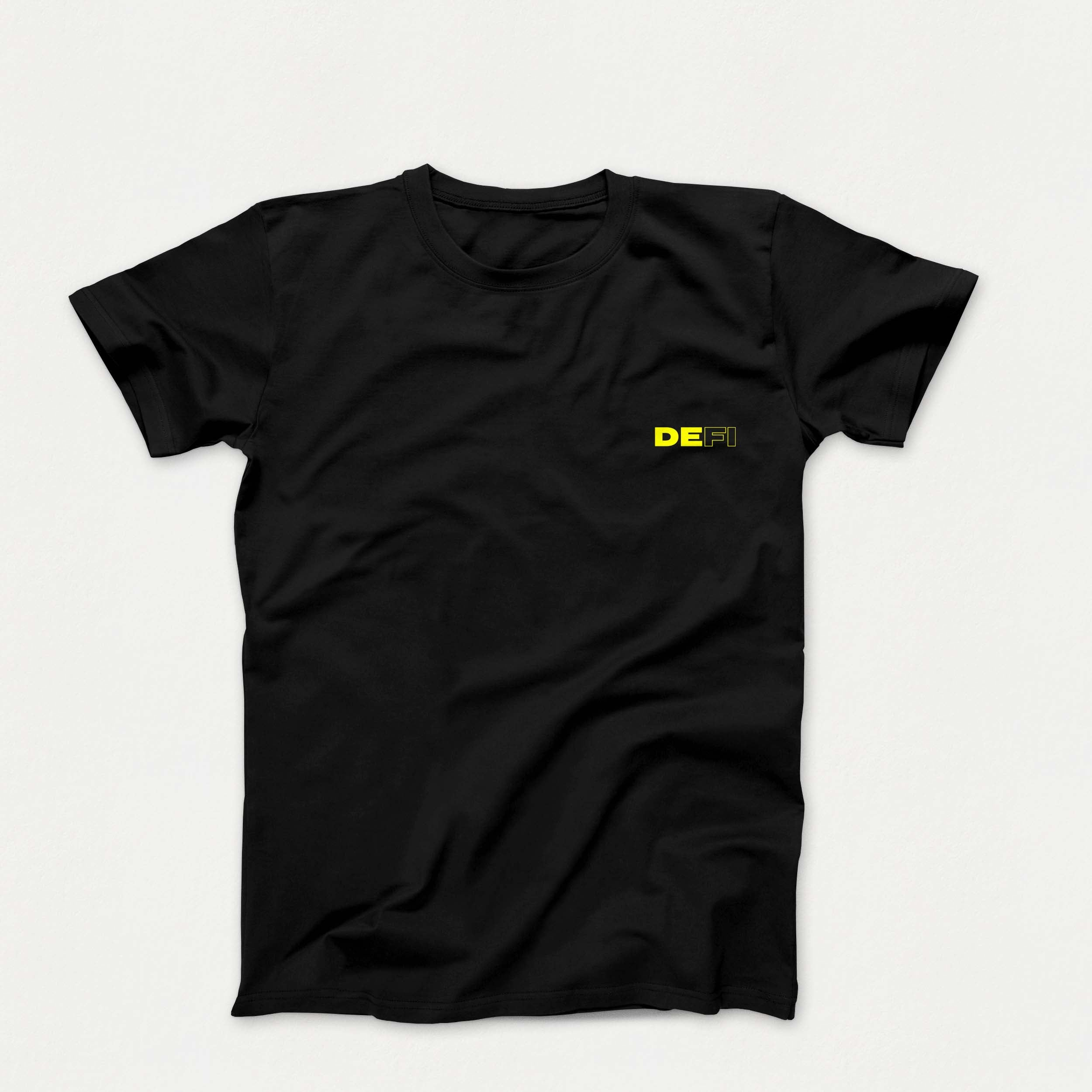 'DEFI The Norm' T-Shirt (Black Yellow)