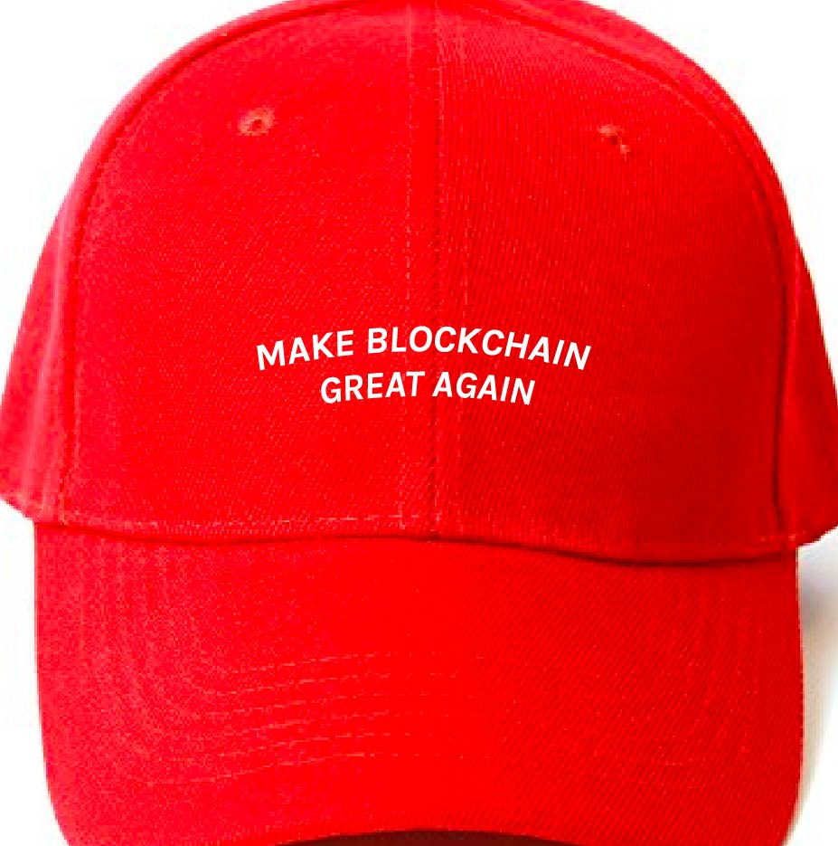 'Make Blockchain Great Again' Campaign Cap
