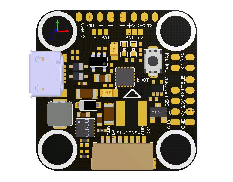 Aikon F4 Mini OSD 20x20 Flight Controller Aikon