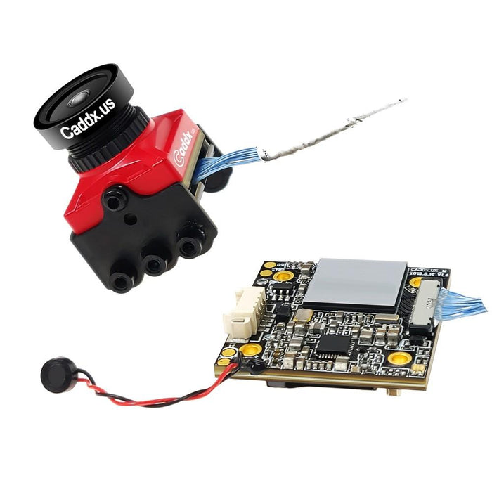Caddx Turtle V2 1080p 60fps HD FPV Camera - Red CADDX