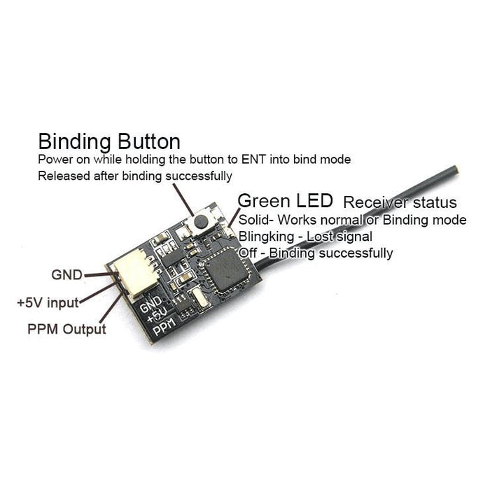 FD800 Tiny Frsky 8CH SBUS Receiver Compatible FRSKY ACCST X9D (Plus) AirBlade UAV