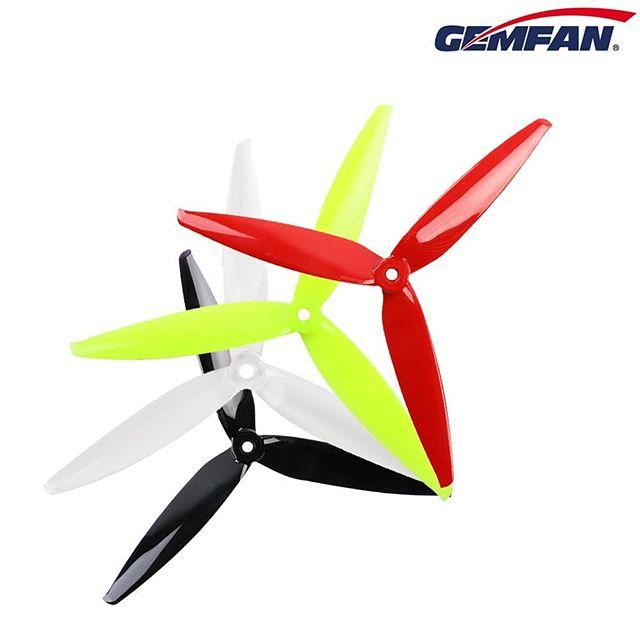 Gemfan Flash 7040 Triblade 7 Inch Prop (Set of 4) Gemfan