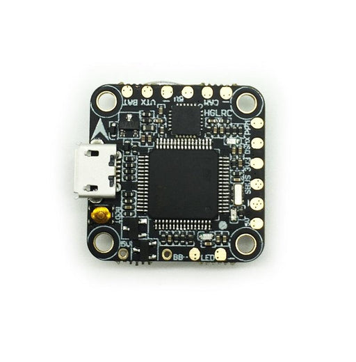 HGLRC Upgraded F4 AIO OSD BEC Flight Controller (FC Replacement for F410, F413, F425, F428) HGLRC