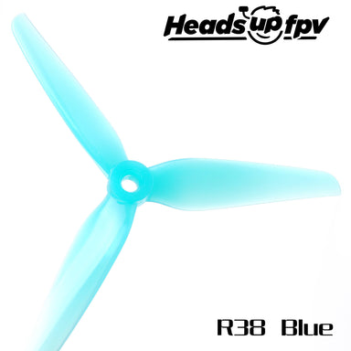Azure Johnny Freestyle 4838 3 Blatt Propeller Blau 2CW+2CCW PC