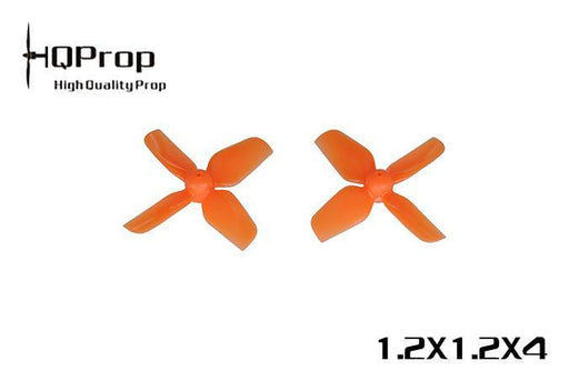 HQProp 1.2X1.2X4 Micro Whoop 31mm Prop 0.8mm Shaft (Set of 4) HQProp