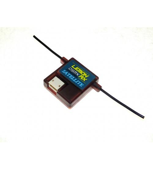 LemonRx DSMX Compatible 6-Channel Receiver + Lemon DSMX Compatible Satellite LemonRX