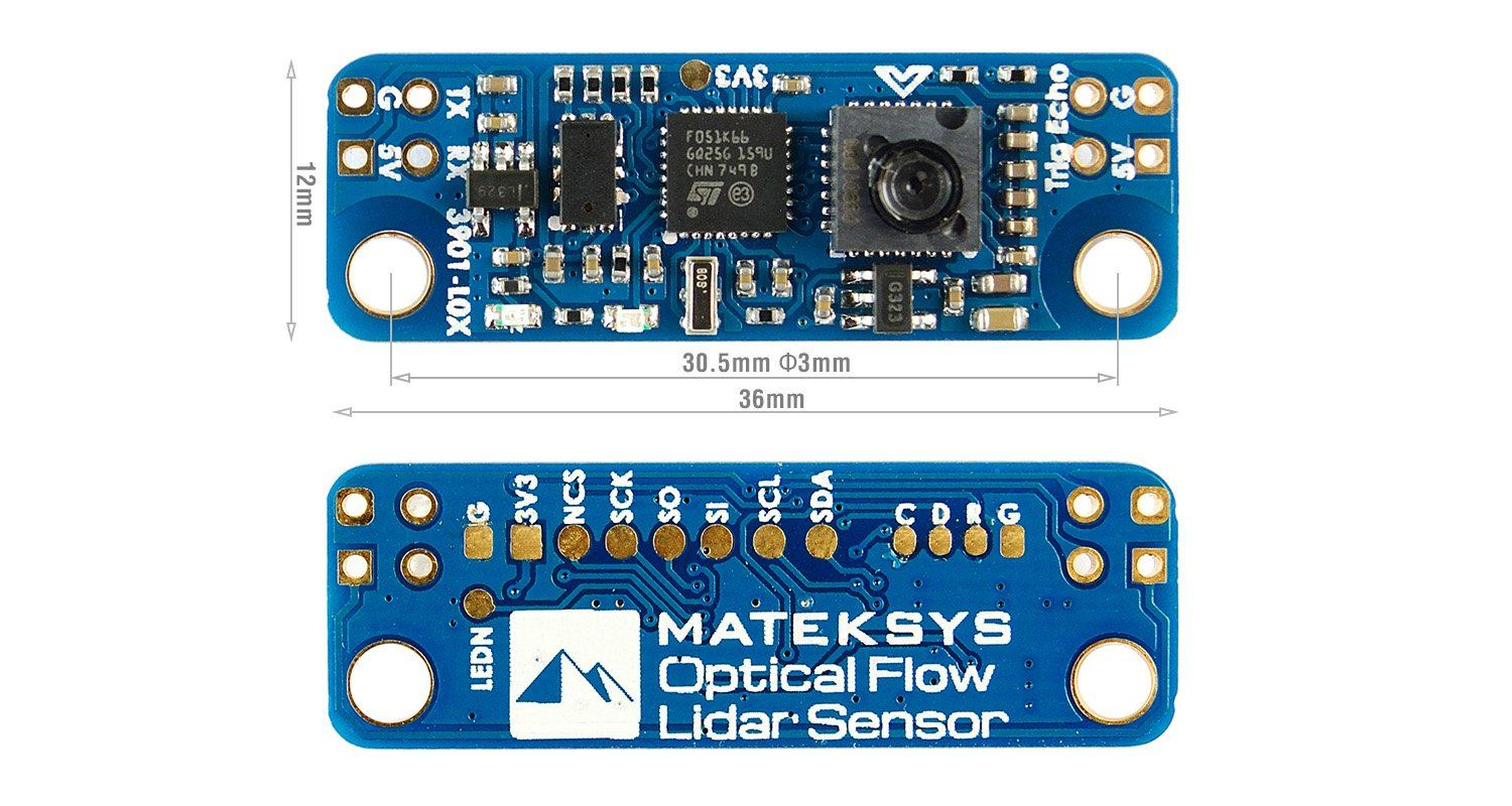 Matek Sys Optical Flow and Lidar Sensor 3901-L0X Matek