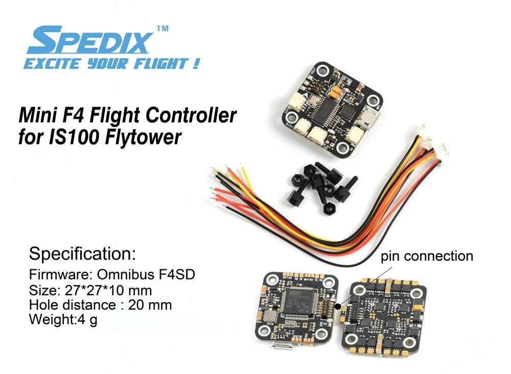 Spedix IS100 Replacement F4 Flight Controller Spedix