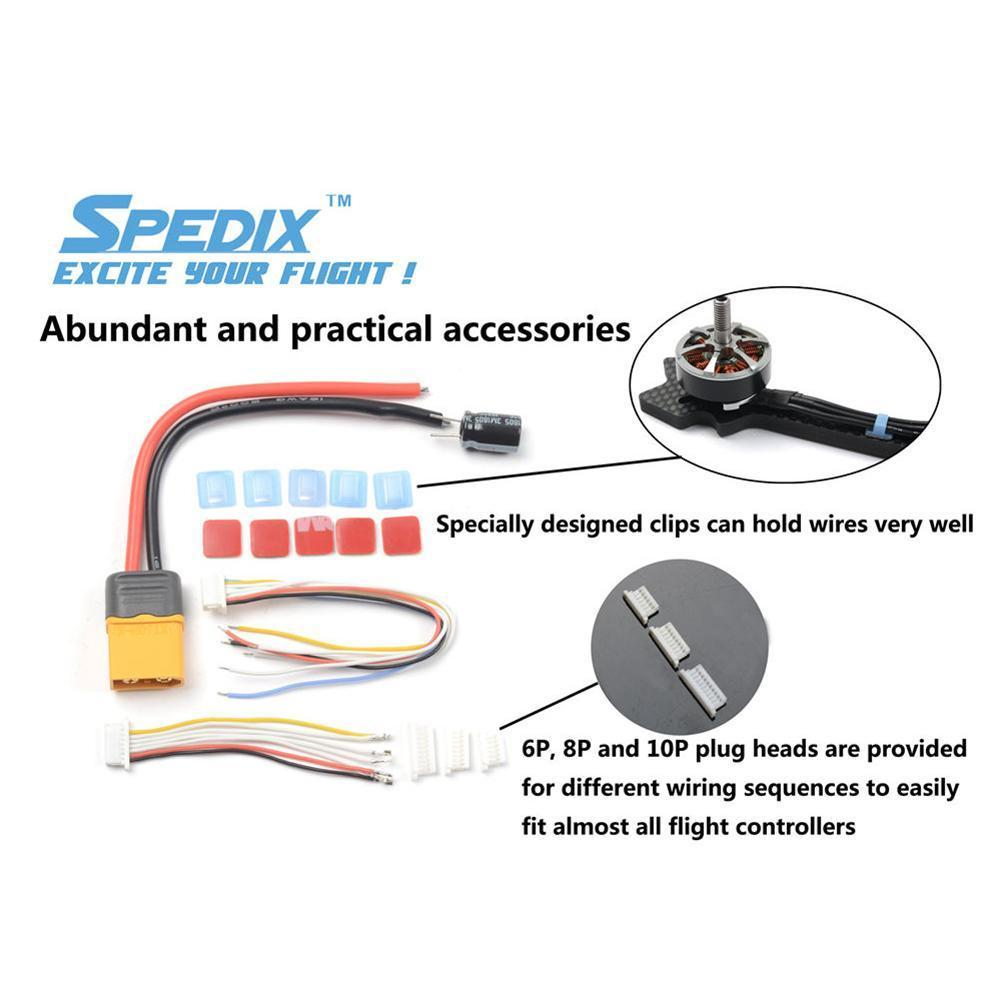 Spedix IS35 35A 5S 4-in-1 BLHeli_S ESC Spedix