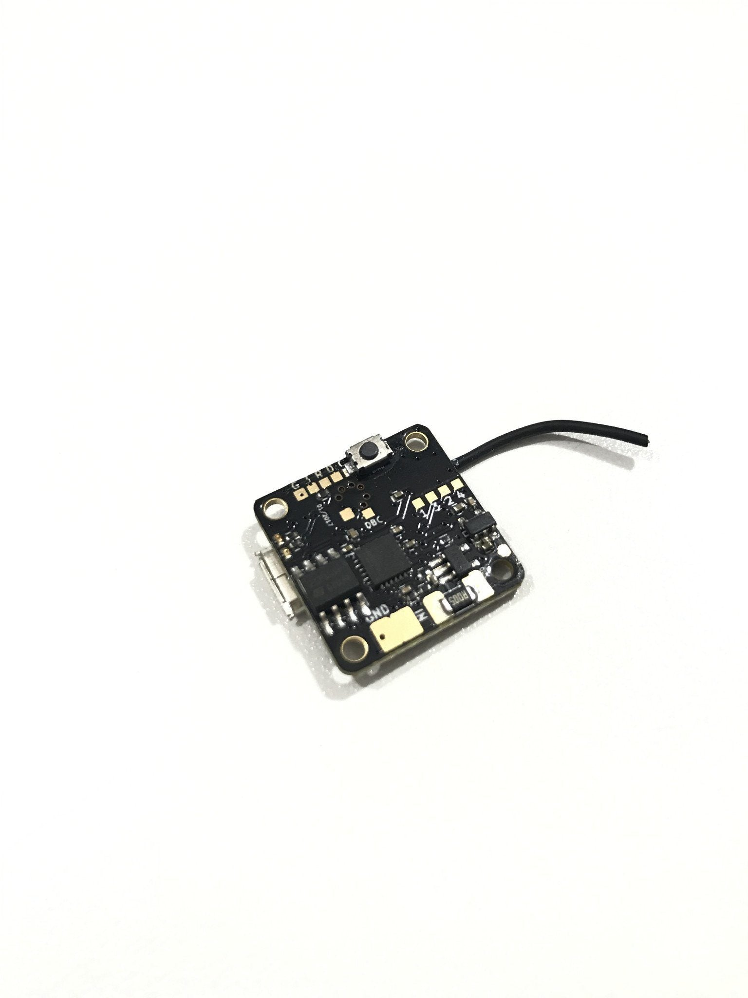 tinyFISH F3 16x16 Flight Controller 1S-2S with Built-in FrSky Receiver (1.7g!) Sunrise