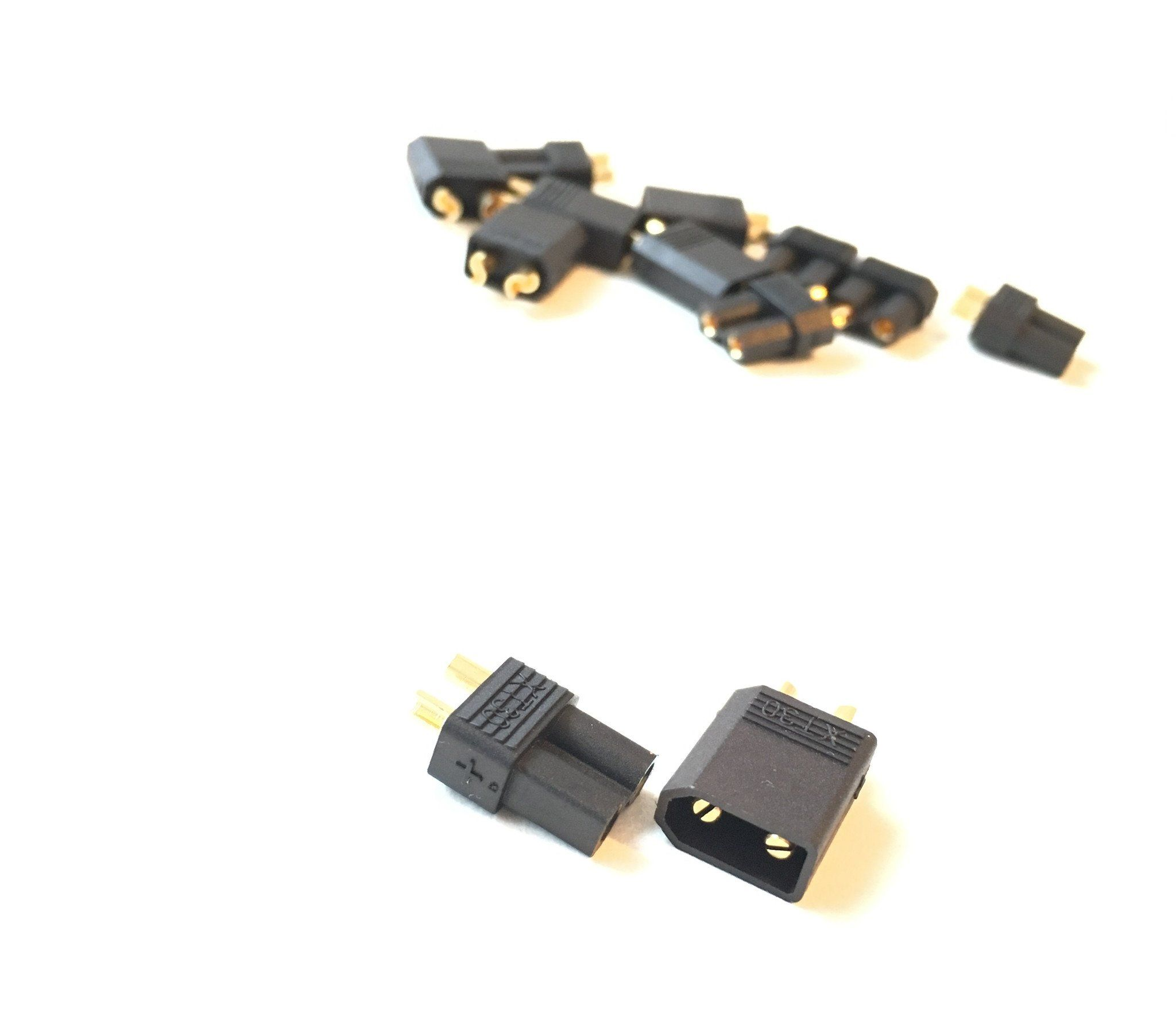 XT30 or XT60 Plugs (Black) AirBlade UAV