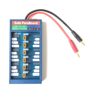 XT30 Parallel Charging Board JST-XH 2S-4S with Fuse AirBlade UAV