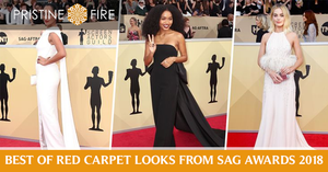 Best of Red Carpet looks from Sag Awards 2018