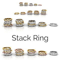 Stack Ring Collection