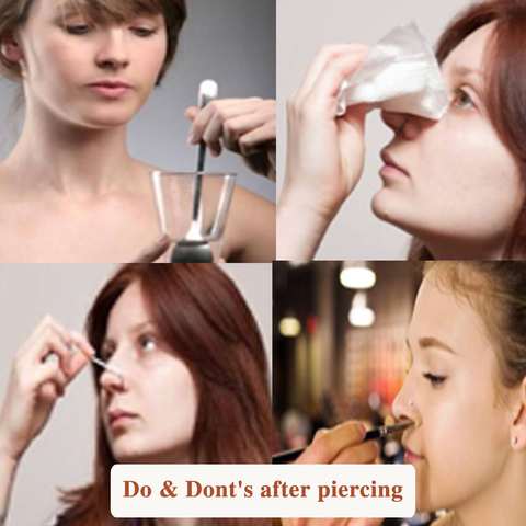 Everything You Need To Know About The Process Of Nose Piercing