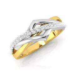 diamond studded gold jewellery - Bruno Men's Ring - Pristine Fire - 1