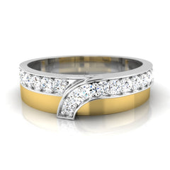 diamond studded gold jewellery - Jonathan Men's Ring - Pristine Fire - 2