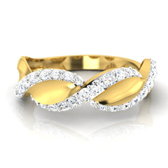 diamond studded gold jewellery - Manish Men's Ring - Pristine Fire - 2