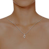 diamond studded gold jewellery - Vivalda Casual Pendant - Pristine Fire - 4